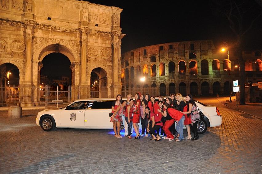 Noleggio Limousine Addio al Nubilato Roma