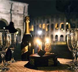 noleggio limousine compleanno Roma