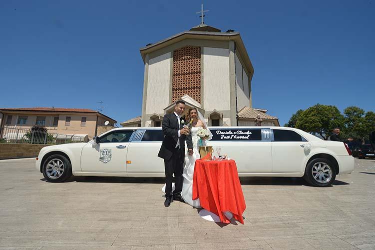 noleggio limousine matrimoni