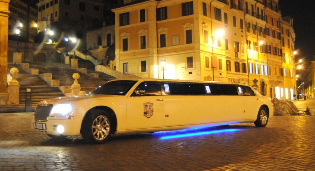 noleggio limousine hotel Roma
