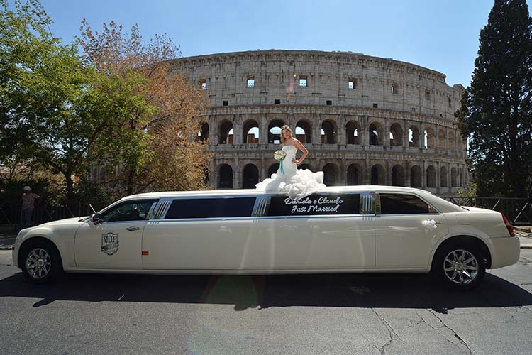 affitto limousine matrimonio