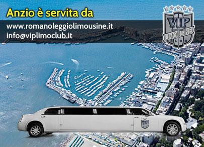 noleggio limousine anzio