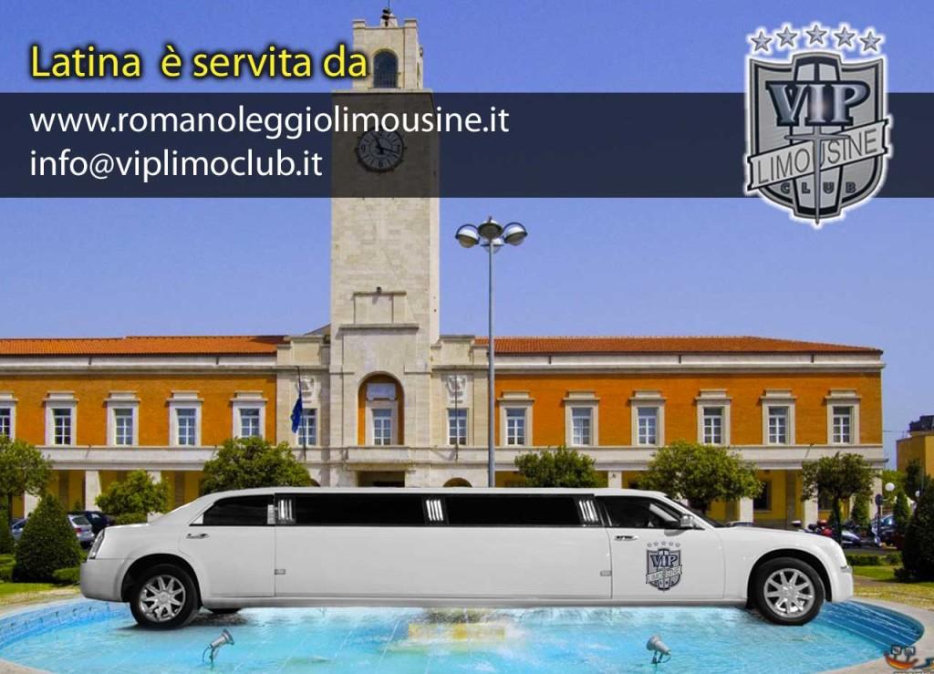 noleggio limousine latina