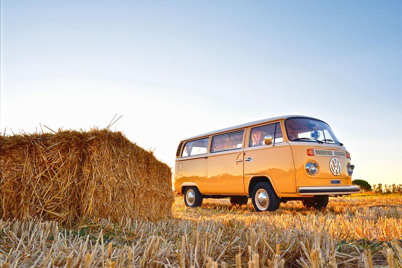 PULMINO VOLKSWAGEN T2 , noleggio furgoncini volkswagen