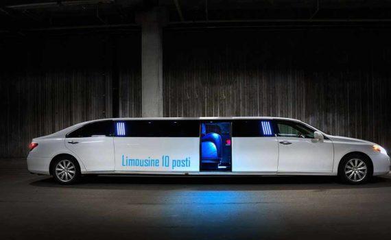 Limousine Roma 10 posti