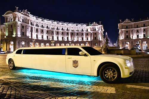 Limousine a Roma