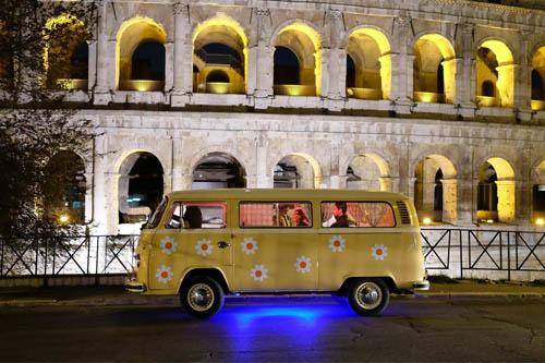 Noleggio Pulmino Volkswagen Roma