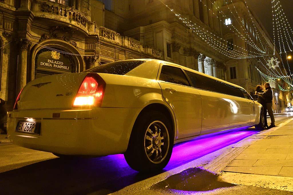 Noleggio Limousine San Valentino Roma