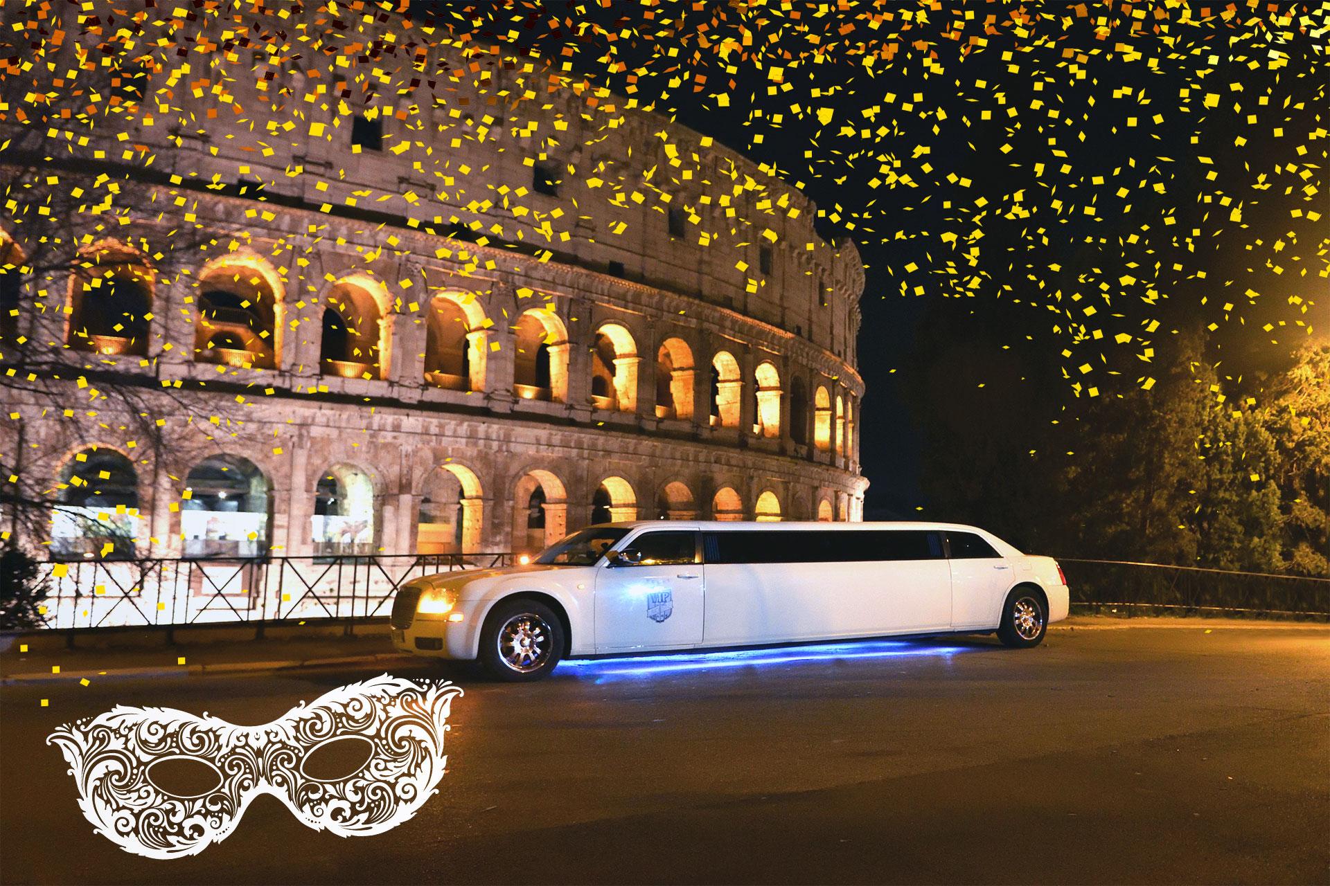 carnevale in limousine