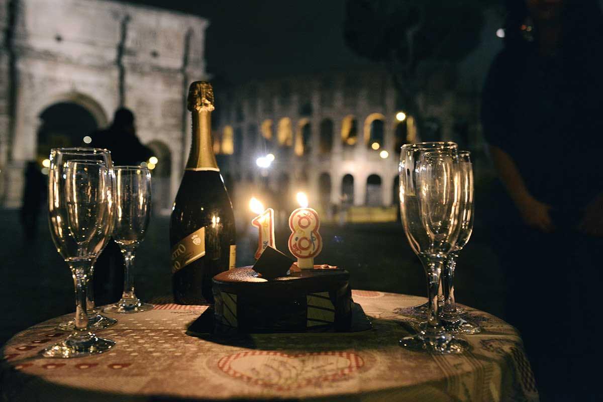Limousine Compleanno Roma