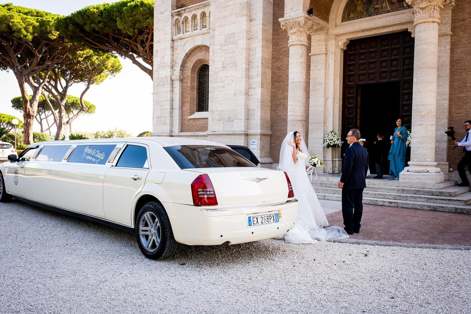 affitto Limousine Roma Matrimonio
